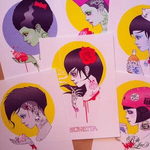 Image of Dead Girls Card Set