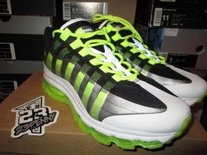 Image of Air Max 95+ BB &quot;Black/Volt&quot;