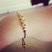 Image of Personalized Name Bracelets