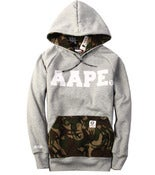 Image of NEW! A Bathing Ape AAPE Camo Pouch Hoodie Collection