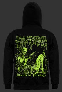 "Image of Goreaphobia ""Morbidious Pathology""   Hooded Sweatshirt"