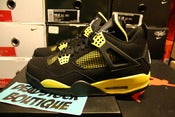 Image of Air Jordan IV (4) QS Retro &quot;Thunders&quot;