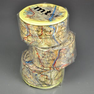 Image of Map Washi Tape