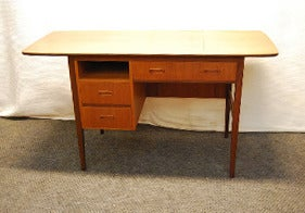 Image of BUREAU SCANDINAVE EN TECK -REF.1214