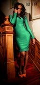Image of The Afripop Dress in Mint