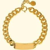 Image of Gold Plate Chain