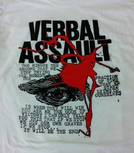 Image of AA#53 v/a RIX-Core Verbal Assault, Vicious Circle, Positive Outlook LP/T-Shirt/Download