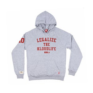 Kloud Legalize Hoody Grey