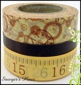 Image of Viola Collection 3 Set - Japanese Masking Tape - 3 x 15m rolls