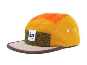 Image of LESS - Square Logo Camp Cap(Orange)