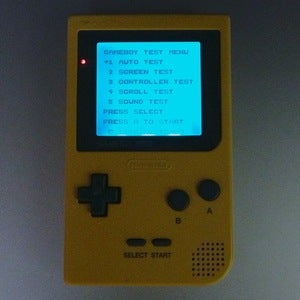 Image of Backlit Game Boy Pocket