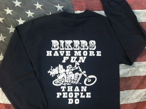 Image of BIKER FUN Long Sleeve