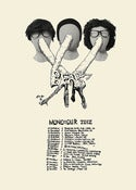 Image of BEAK>  'MONOtOUR' lithograph hand screen printed PRINT / POSTER