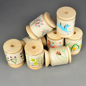Image of Printed Linen Tape 30mm