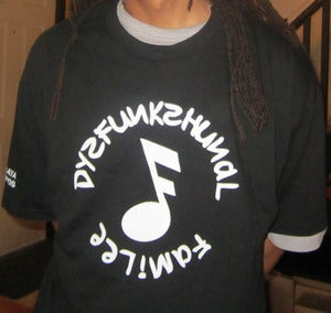 Image of DYSFUNKSHUNAL FAMILEE T-SHIRT (BLACK)