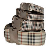 Image of Windsor Plaid - Dog Collar on UncommonPaws.com
