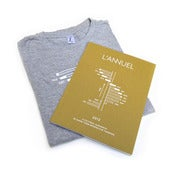 Image of L'Annuel 2012 magazine + tee shirt pack