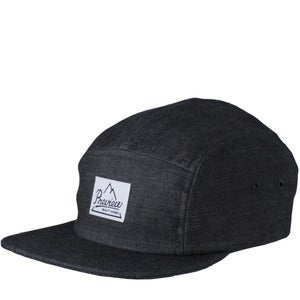 Image of Preview Camp Cap, Black Denim