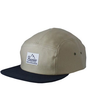 Image of Preview Camp Cap, Beige / Dark Navy