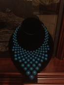 Image of Blue Berries Necklace