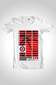 Image of #KNIGHTEDRIDER Cycling T-Shirt White