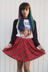 Image of Tangled Up In Plaid Skirt