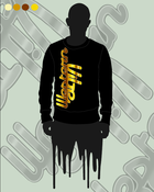 Image of Gold Kolored Vibe Crewneck Sweatshirt