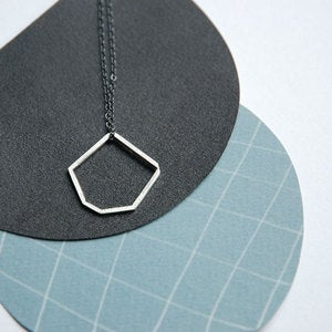 Image of fragment minimalist necklace