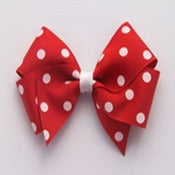 Image of Large Red Polkadot Bow