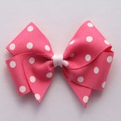 Image of Pink polkadot Bow