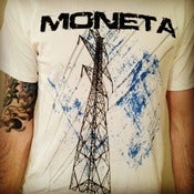 "Image of NEW YEAR'S BLOWOUT SALE! ""Powerlines"" T-shirt $6.00!"