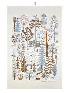 Image of Metsä Blue Kitchen Towel / Keittiöpyyhe