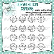 Image of Conversation Candies (4x4) ~ Peachy