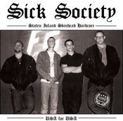 "Image of SICK SOCIETY - USA FOR USA 1989 DEMO 7"" EP Pre-Order"