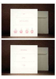 Image of Cupcakes Invites