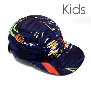 Image of BABY MOUPIA Night Sailing KIDS 5 Panel Hat