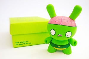 Image of Billy Brains (custom Dunny)