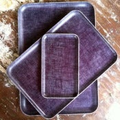 Image of Fog Linen Tray: Pansy