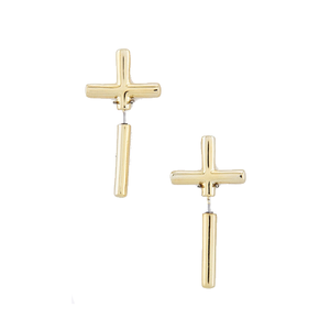 Image of Cross Studs