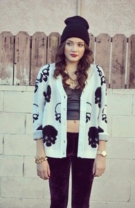 Image of The Skull Cardi 