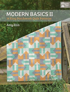 Image of Modern Basics II : 14 Easy Patchwork Quilt Patterns