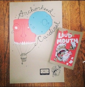 Image of Anchorhead/Cardinal Split Poster w/ Zine