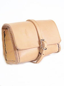 Image of Miniature Leather Dopp Kit Made in USA