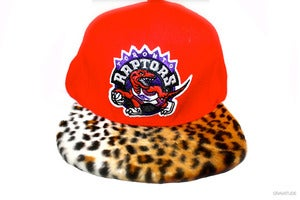 Image of Raptors Cheetah Snapback