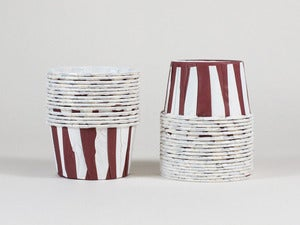 Image of Mini Stripe Cupcake Cups
