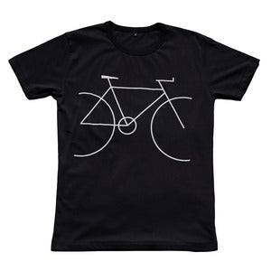 Image of Bicycle t-shirt | Black