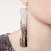 Image of Ombre Tassel Earings
