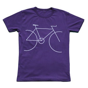 Image of Bicycle t-shirt | Indigo