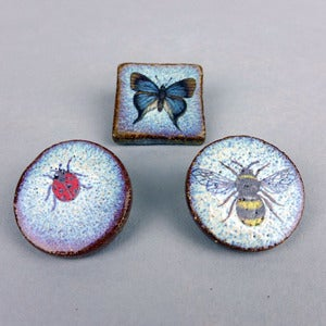 Image of Bee, Butterfly or Ladybird Brooch