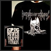 Image of Epic Power Death Thrash Skull T-Shirt